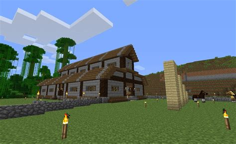 Modern Barns by Minecraft Episode 4 Horse Stable Youtube
