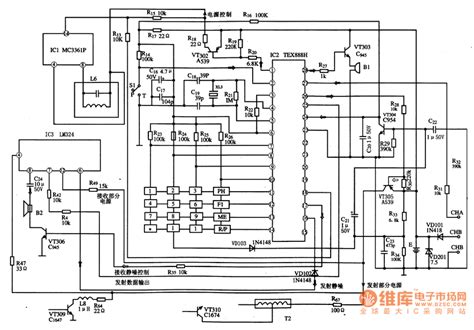 integrated circuit parts integrated circuit diagram gallery