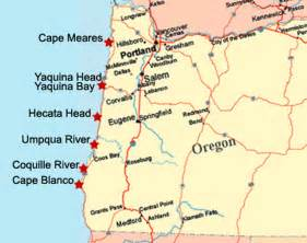 map of oregon lighthouses visit the lighthouses of the oregon coast