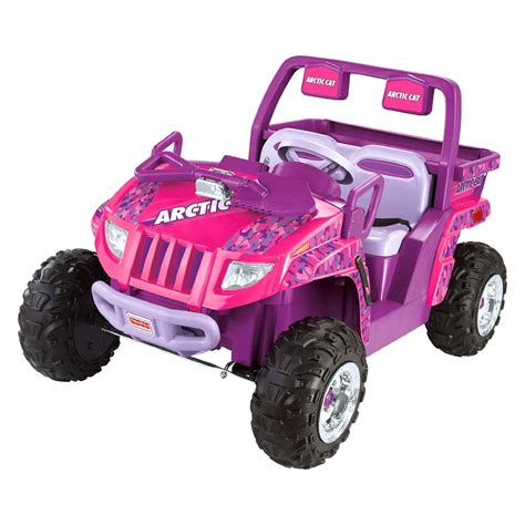 power wheels power wheels 174 ccg93 pink arctic cat