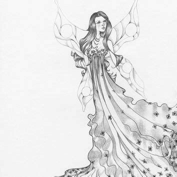 Gamis Sabrina 25 Broken White gallery best pencil sketches of fairies drawings