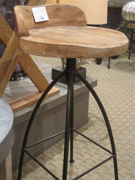handmade iron bar stools three 3 swivel counter stools wood iron industrial