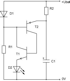 Motorrad Batterie Durch Kondensator Ersetzen by Blitzschaltung Mikrocontroller Net