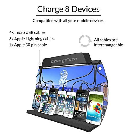 wall mounted cell phone charging station chargetech wall mounted cell phone charging station dock
