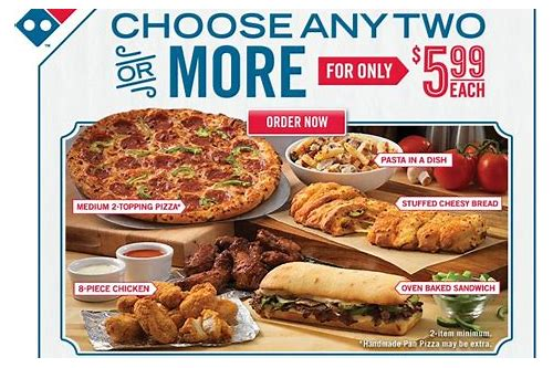 dominos coupons medium 2 topping pizza