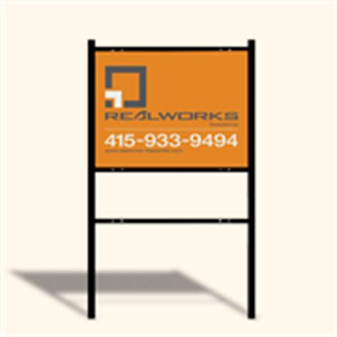 24x36 Real Estate Frame by Independent Real Estate Signs Frames By Deesign