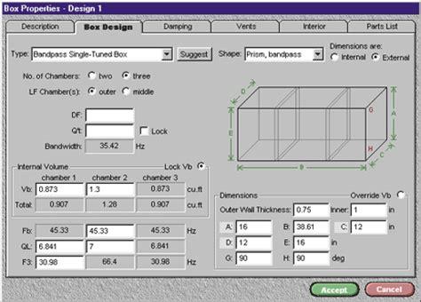 Crossover Pasif Pa Jbl 2 Way car audio bassbox pro box design software
