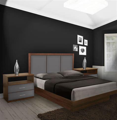 monte carlo king size platform bedroom set  piece
