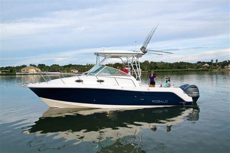 robalo r227 boat test robalo r305 walkaround mw marine
