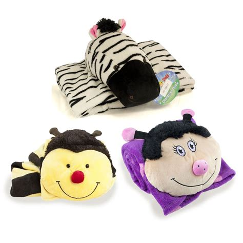 Pillow Pet Blankets by Pillow Pets Animal Pillows Available At This Is It Stores Uk