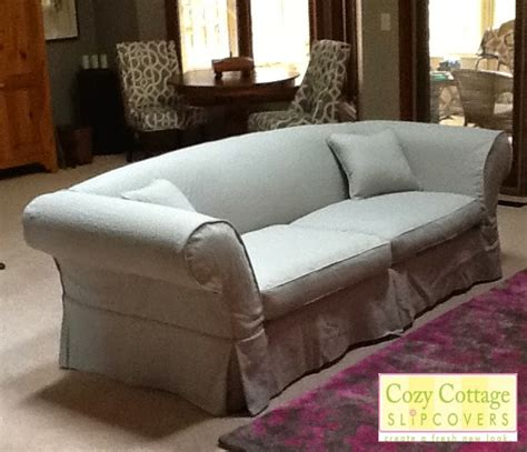 Cozy Cottage Slipcovers Linen Sofa Slipcover Linen Slipcovers For Sofas