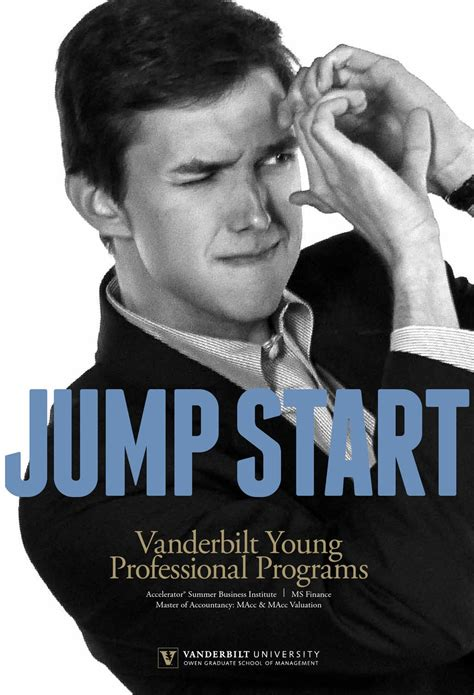 Vanderbilt Owen Mba Employment Report by Professionals Viewbook By Vanderbilt Owen Graduate