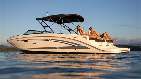 sea ray deck boat sea ray 290 sundeck let the fun begin boats