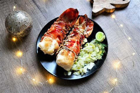 cuisiner des queues de langouste queue de langouste r 244 tie au four aux fourneaux