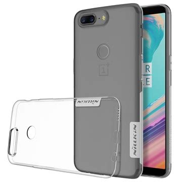 oneplus 5t nillkin nature series 0.6mm tpu case transparent