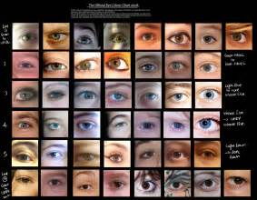 human eye color human eye colour chart by delpigeon the eye si gh t