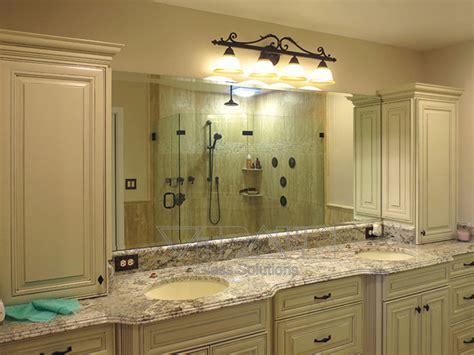 custom mirrors for bathrooms custom mirrors traditional bathroom orlando by