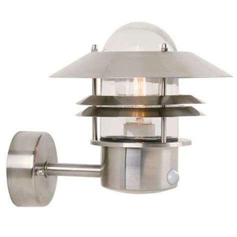 Nordlux Blokhus Up Sensor Stainless Steel 25031034 Outdoor Lighting Centre