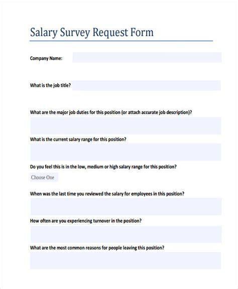 salary review form template images templates design ideas