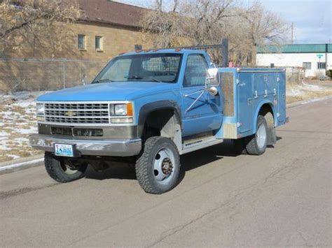 how cars engines work 1992 chevrolet 3500 free book repair manuals purchase used 1992 chevy 3500hd 4x4 in cheyenne wyoming united states