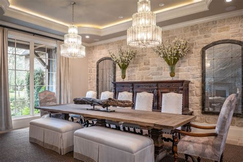 spectacular mediterranean dining room designs