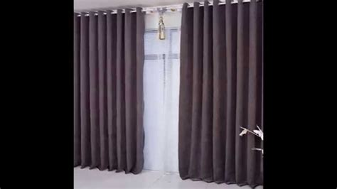 diy basement window curtains ideas  install   small place youtube