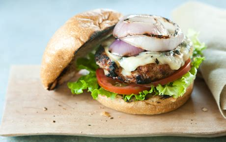 grilled turkey burgers with gouda | whole foods market