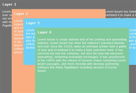 qt layout absolute position an indepth coverage on css layers z index relative and