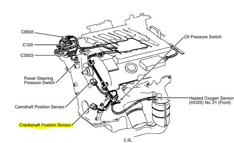 where is the crank position sensor located on 2002 mercury 2