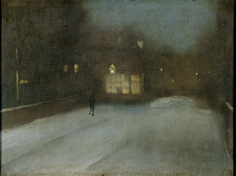 grey and gold from the harvard art museums collections nocturne in grey