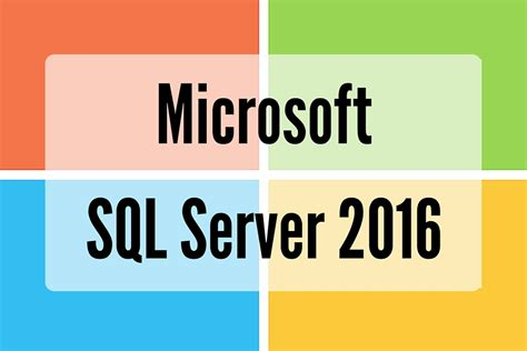 Microsoft Sql Server sql server 2016 released wardy it solutions