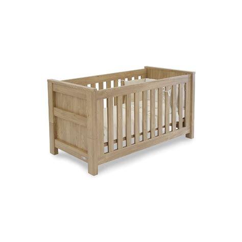 Bordeaux Cot Bed babystyle bordeaux cot bed oak free foam mattress worth