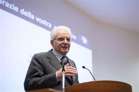 ufficio presidente della repubblica il presidente della repubblica italiana sergio mattarella