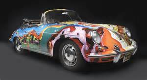Janis Joplins Porsche Photos Janis Joplin S Custom Painted Porsche At Nc
