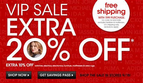 Macys Sale by Macy S Vip Sale Enjoy An Additional 20 Any Purchase