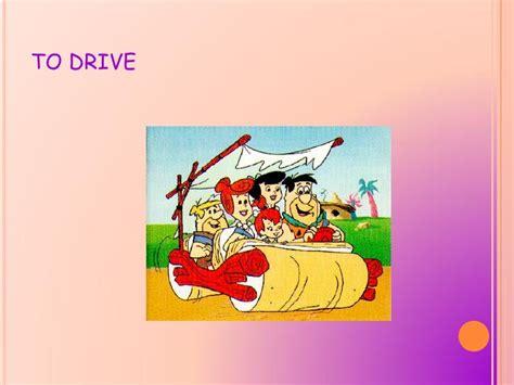 drive verb 3 action verbs
