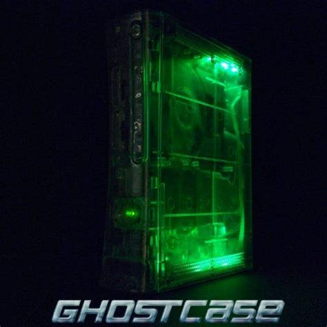 game console mod 1 6 4 xbox 360 console modded with crystal clear ghostcase