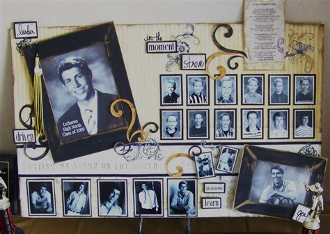 photo board ideas creations from my heart a graduation memory board to