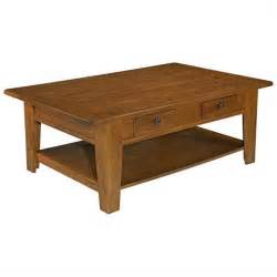 broyhill attic heirlooms rectangular cocktail table in oak