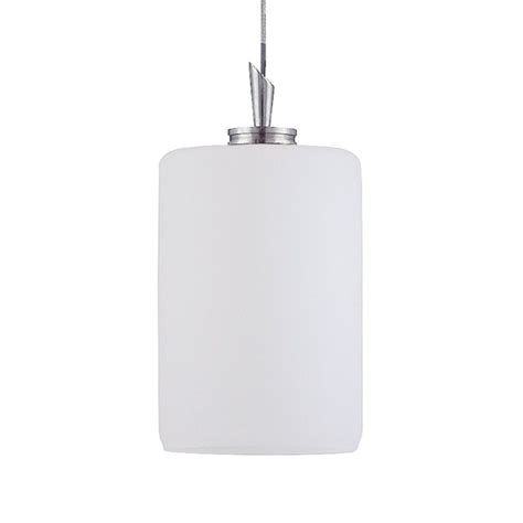 Shop Kendal Lighting 6 In H 4 In W White Cylinder Pendant Pendant Light Shade Only
