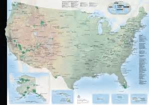 map of parks national park maps npmaps just free maps period
