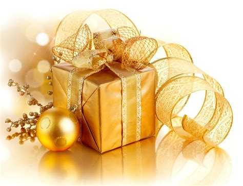gift box decorations golden merry gift box decoration