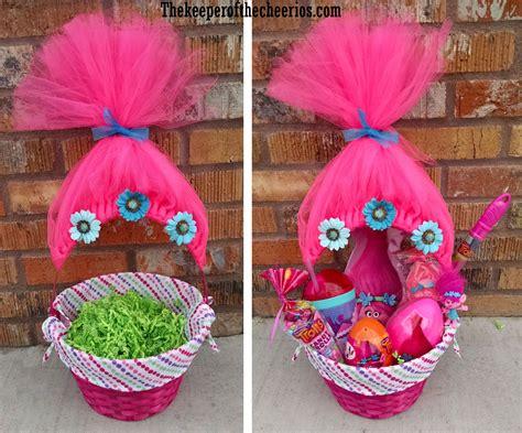 Handmade Easter Basket Ideas - trolls easter basket idea stuff i like