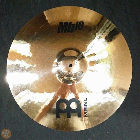 meinl 19 quot mb10 medium crash cymbal reverb