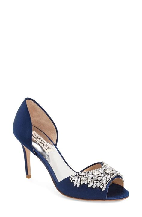 Navy Blue Bridal Heels by Best 25 Navy Blue Wedding Shoes Ideas On Navy
