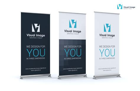 Wf Roll 40 Best Fresh Original visual image projekt roll up firmowego studio projektowania graficznego 2d i 3d visual image