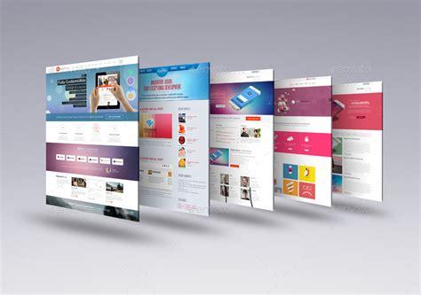 mockup design html 30 perspective website design psd mockups decolore net