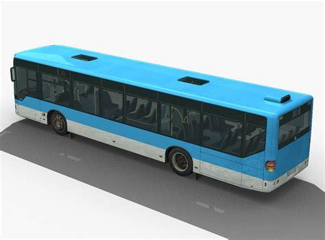 Standard Sofa by City Bus Mercedes Citaro Textured 3d Model Max Obj