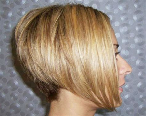bob with stacked in back and short in front stacked bob hairstyles back view hairxstatic angled