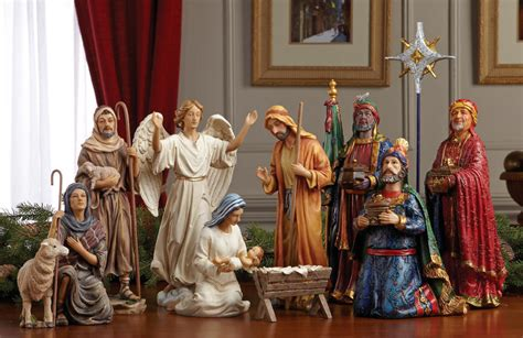 where to get life nativity set nativity sets 100